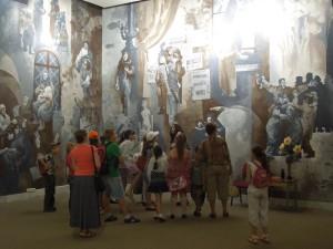 занятие в стенах Центрального музея ВОВ